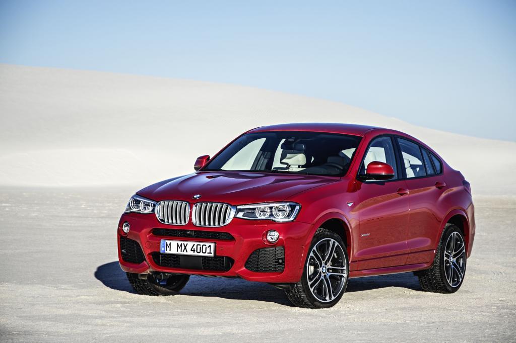 Der neue BMW X4 sieht aus wie ein zu heiß gebadeter X6, ist technisch verwandt mit dem gut 7.000 Euro günstigeren X3 und hat derzeit keine Konkurrenz.
