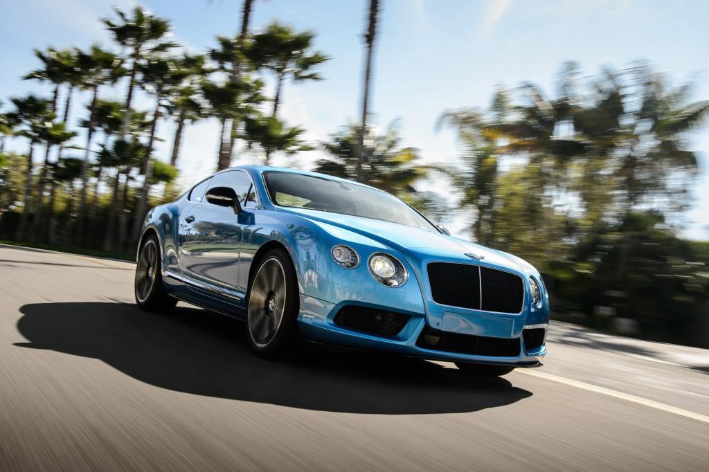 Die Briten bieten ihr Einstiegsmodell Continental mit dem Achtzylinder jetzt auch in einer schärferen S-Version an.