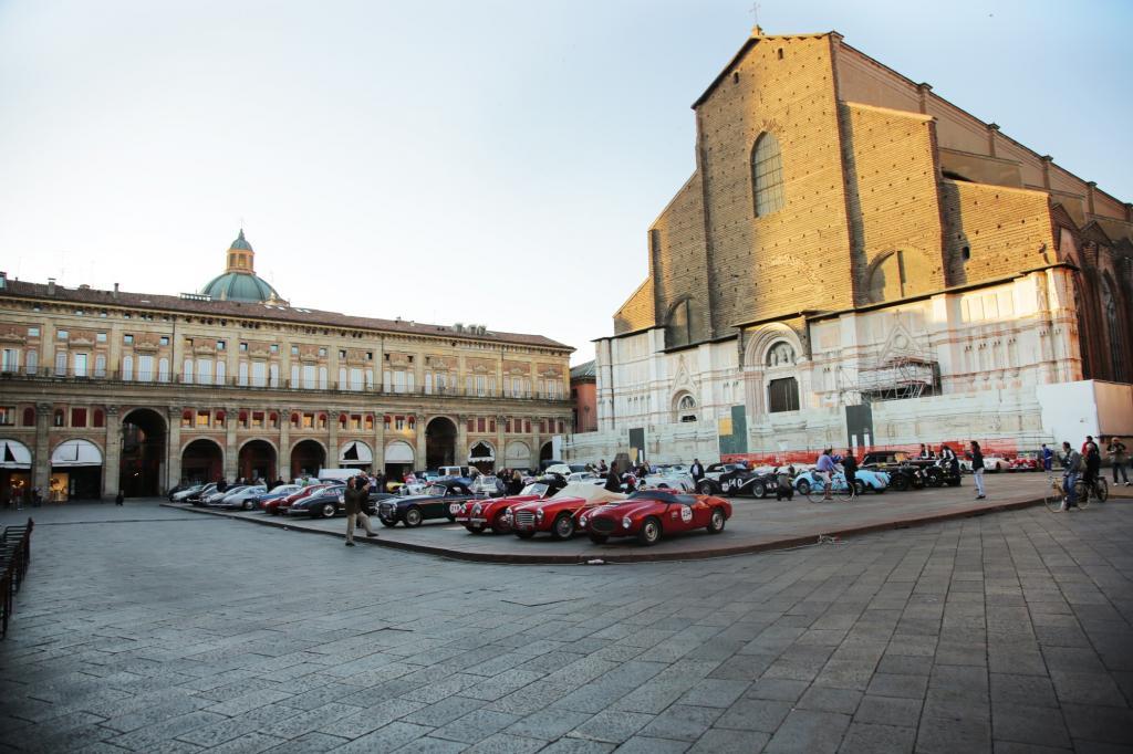 Die Mille Miglia in Bologna