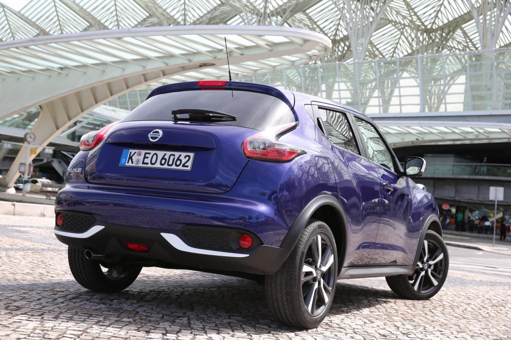 Die Verantwortlichen Nissan-Entwickler haben im Zuge des Facelifts das Kofferraum-Manko beseitigt und ihn um 40 Prozent vergrößert.