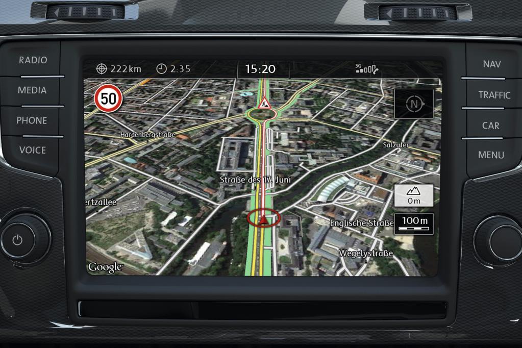 Diebstahl fest eingebauter Navigationssysteme