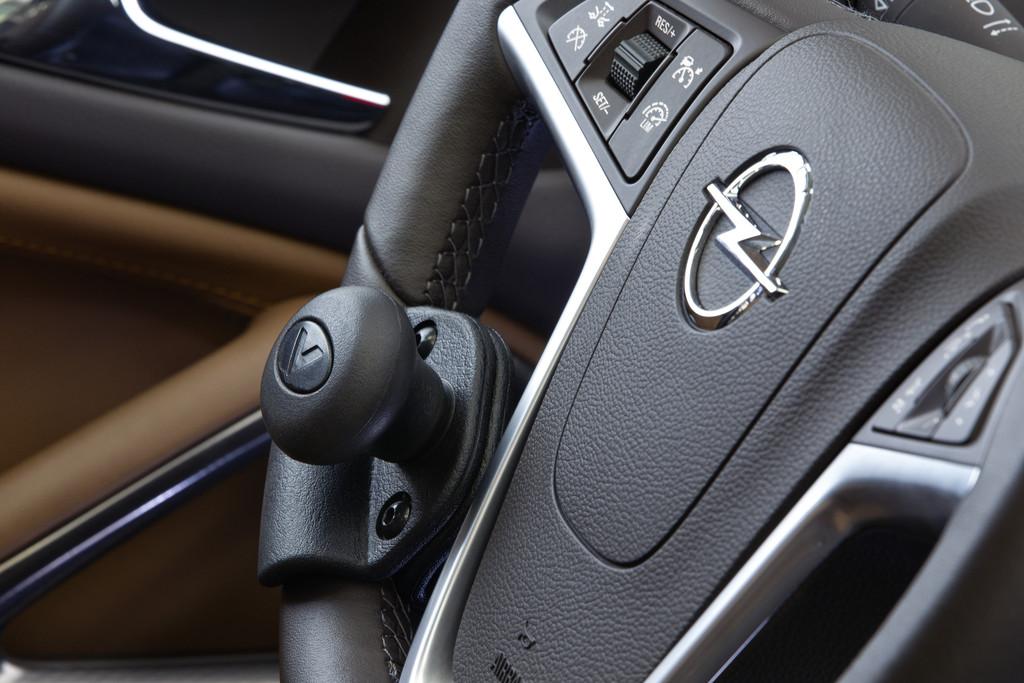 Ein Handicap ist für Opel kein Hindernis