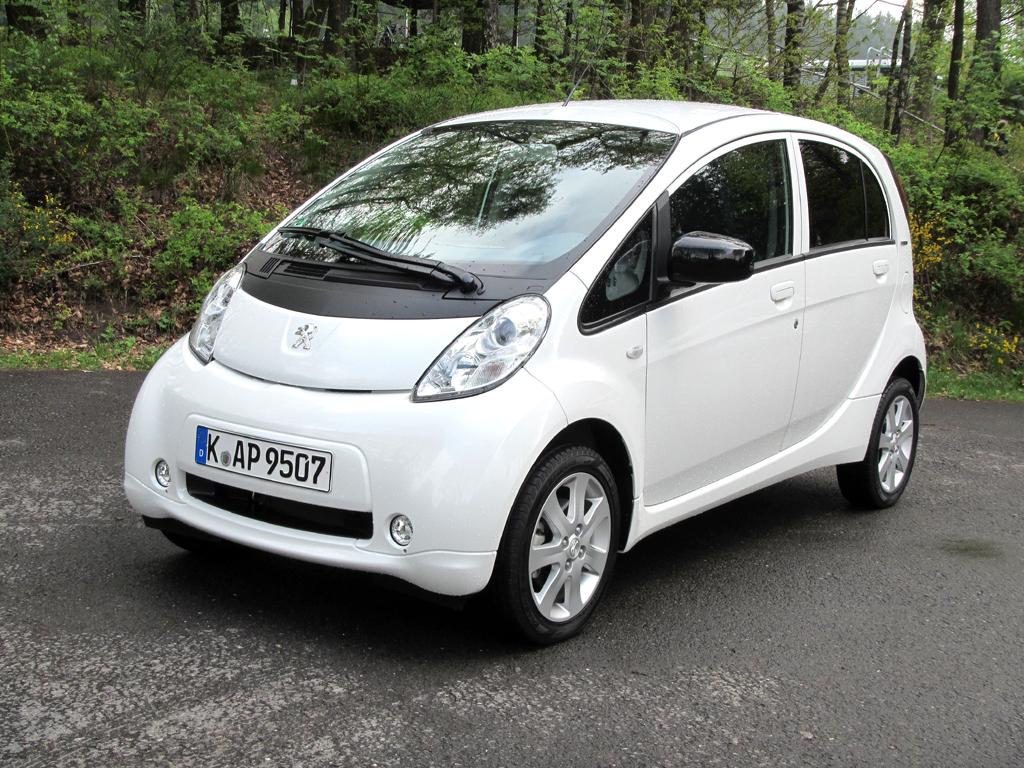Elektrisch: Peugeot iOn.