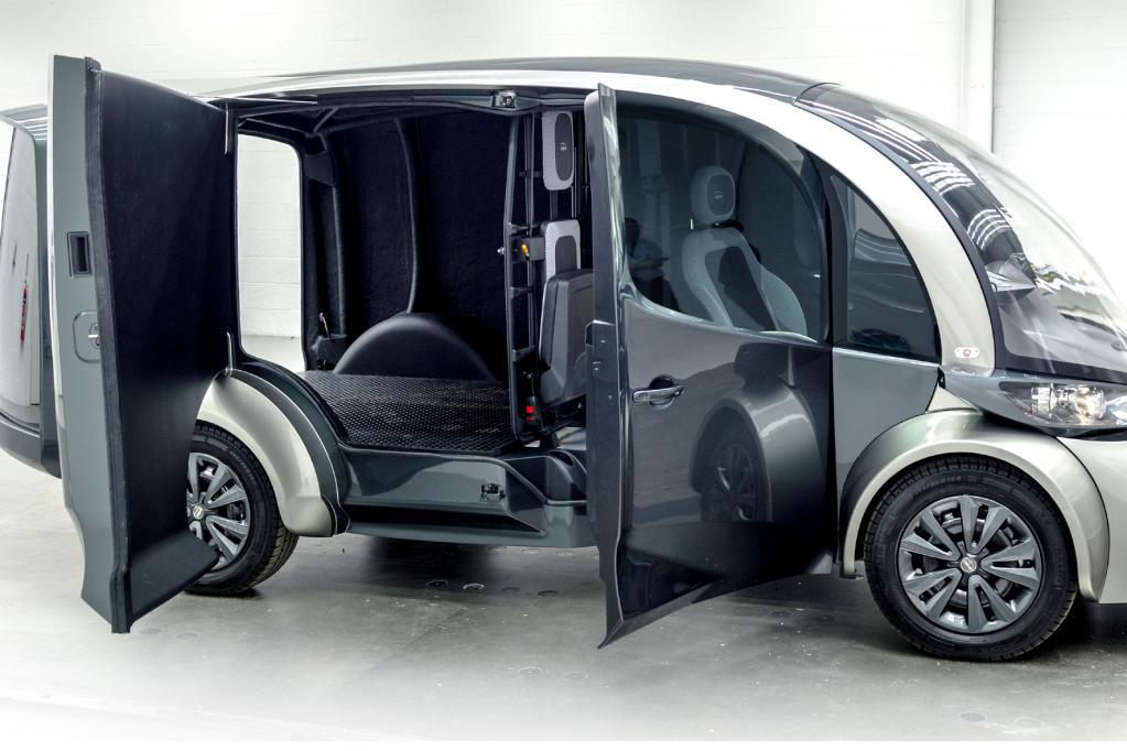 Elektro-Lieferwagen für Europa
