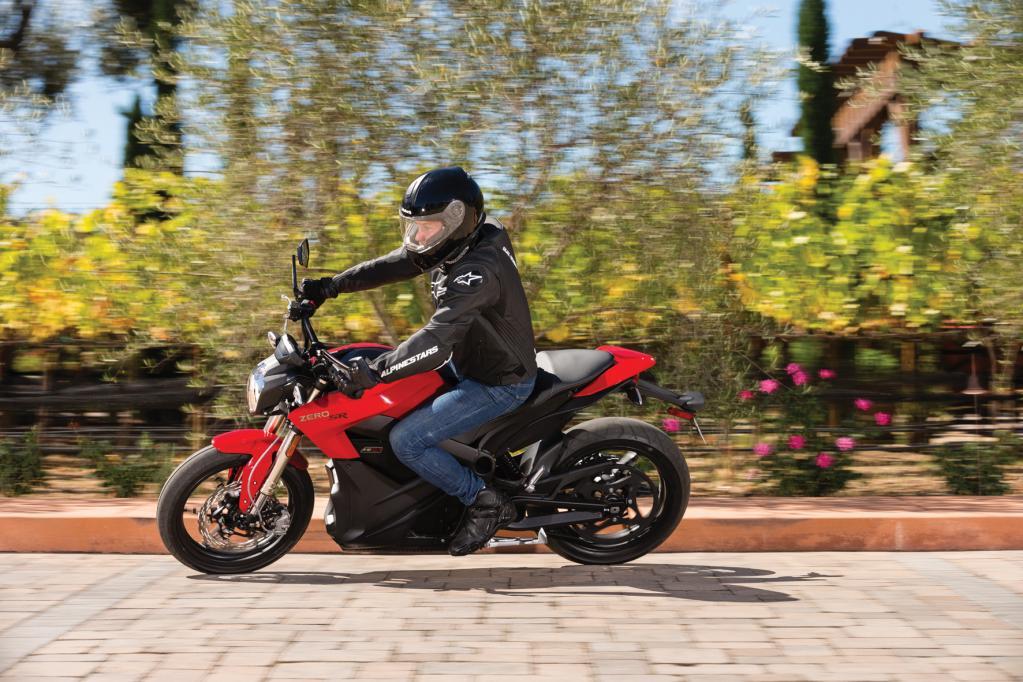 Elektro-Motorräder sind schnell - aber selten