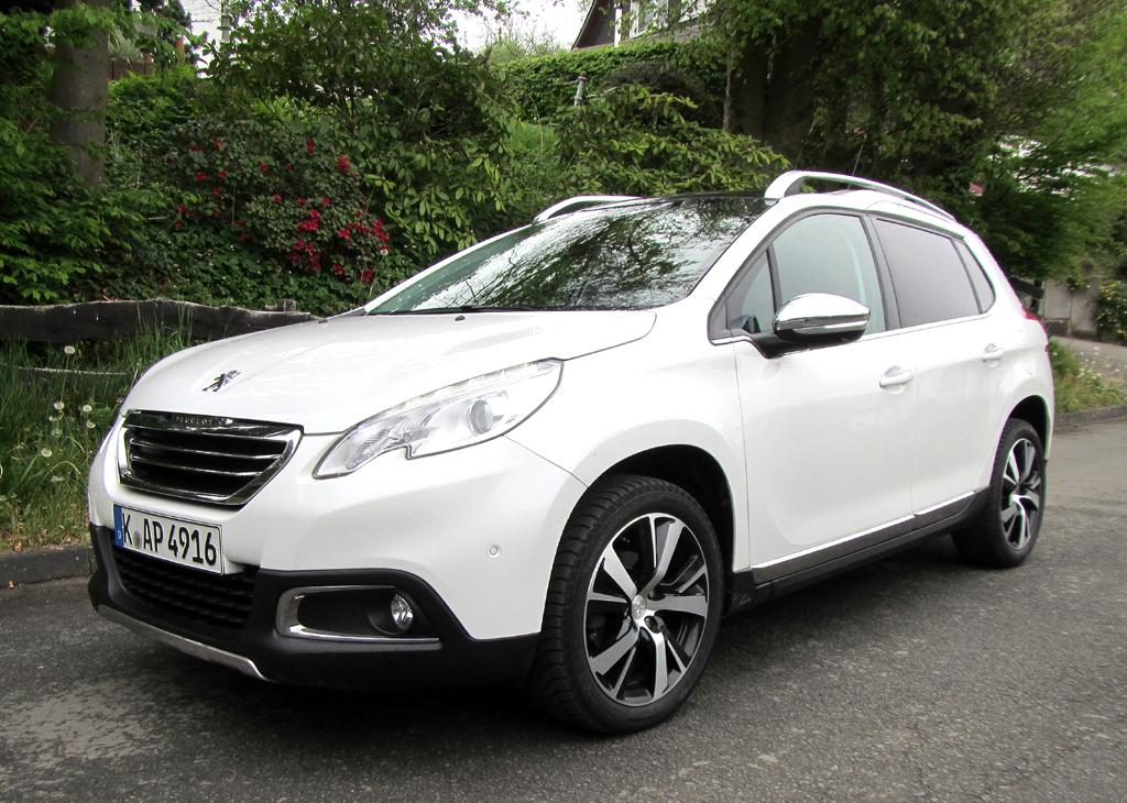 Erfolgsmodell: Peugeot-Urban-Crossover 2008. Foto: Grebe