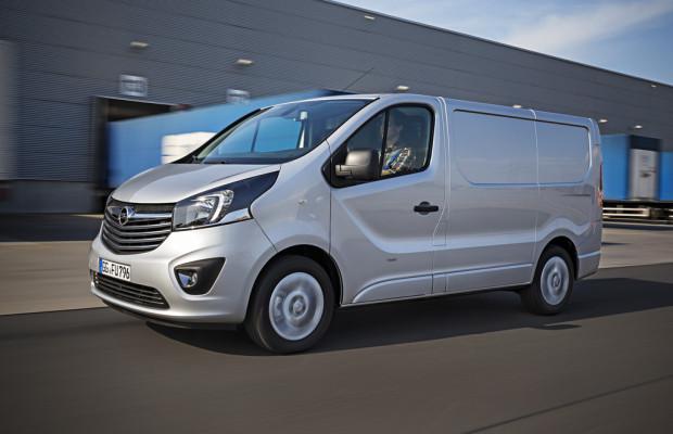 Erster Preis für den neuen Opel Vivaro
