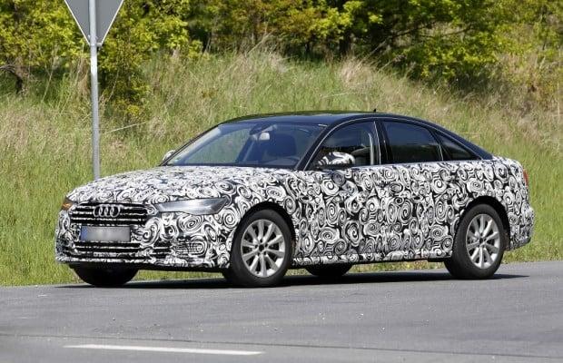 Erwischt: Audi A6 Facelift - Kombi und Limousine zusammen abgelichtet