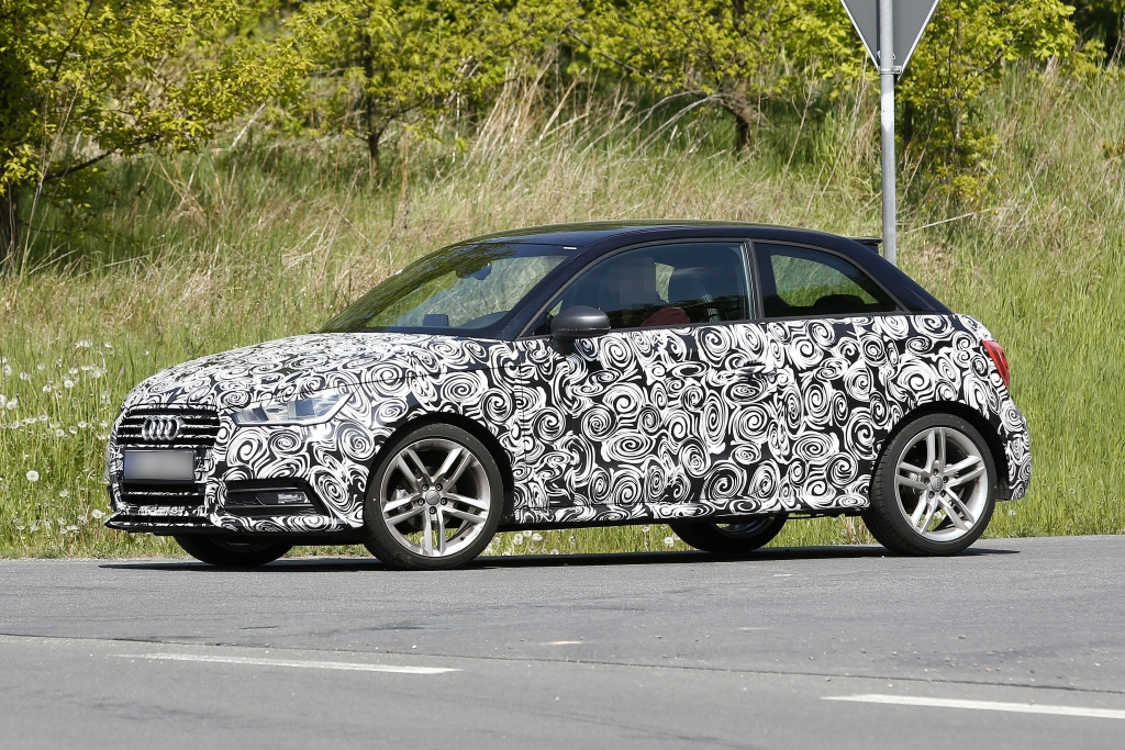 Erwischt: Erlkönig Audi A1 und A1 Sportback - Kosmetik für mehr Erfolg