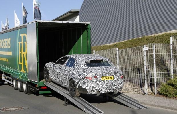 Erwischt: Erlkönig Jaguar XE - Auf dem Weg zum Ring