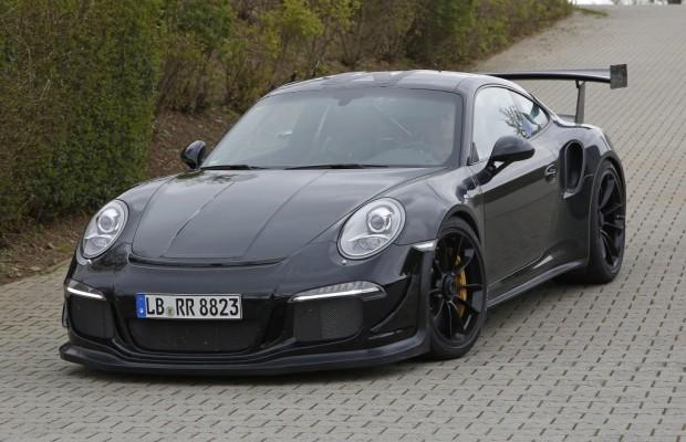 Erwischt: Erlkönig Porsche 911 GT3 RS