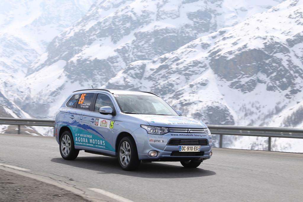 Fünf Sterne für Mitsubishi Plug-in Hybrid Outlander