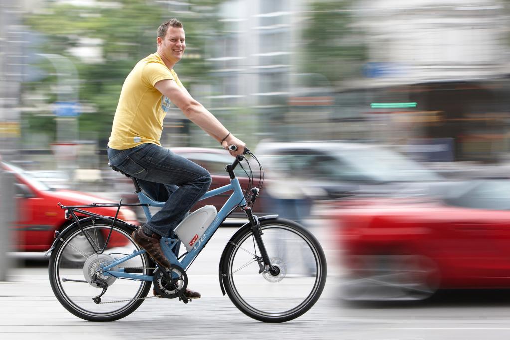 Fahrradfahren ist sexy