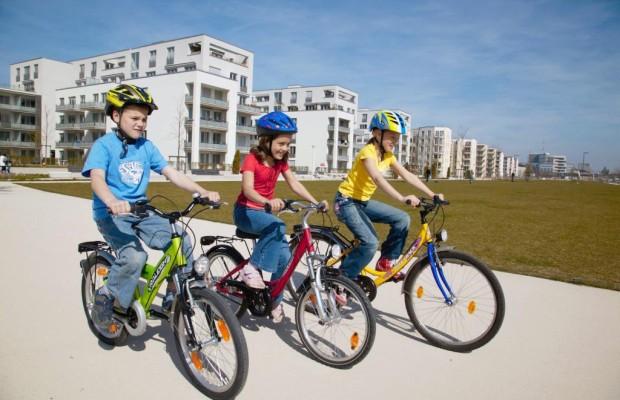 Fahrradhelme werden besser angenommen - Mehr Kinder mit Kopfschutz