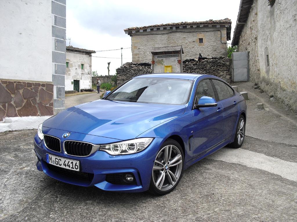 Flotte Premium-Mittelklasse: BMW 4er Gran Coupé.