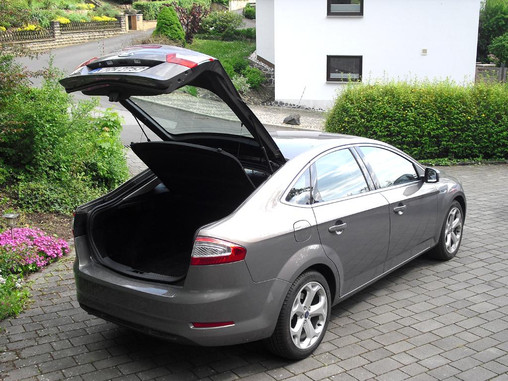 Ford Mondeo: Das Gepäckabteil fasst 540 bis 1460 Liter.
