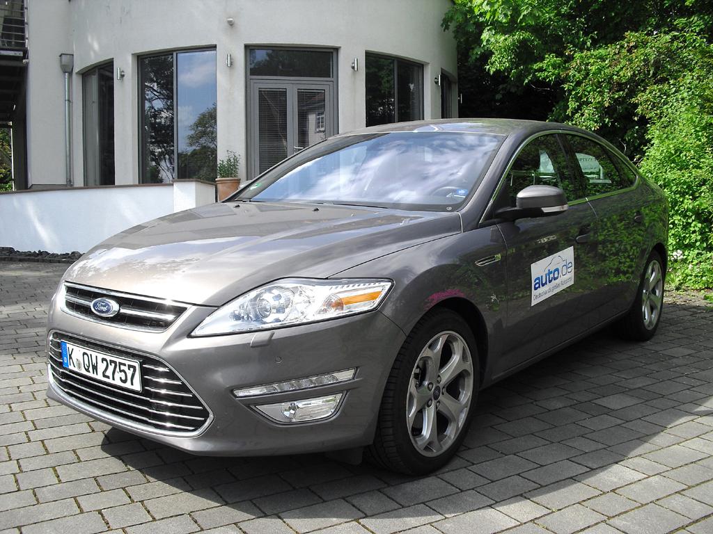 Ford Mondeo, hier als Diesel-Limousine mit 103/140 kW/PS.