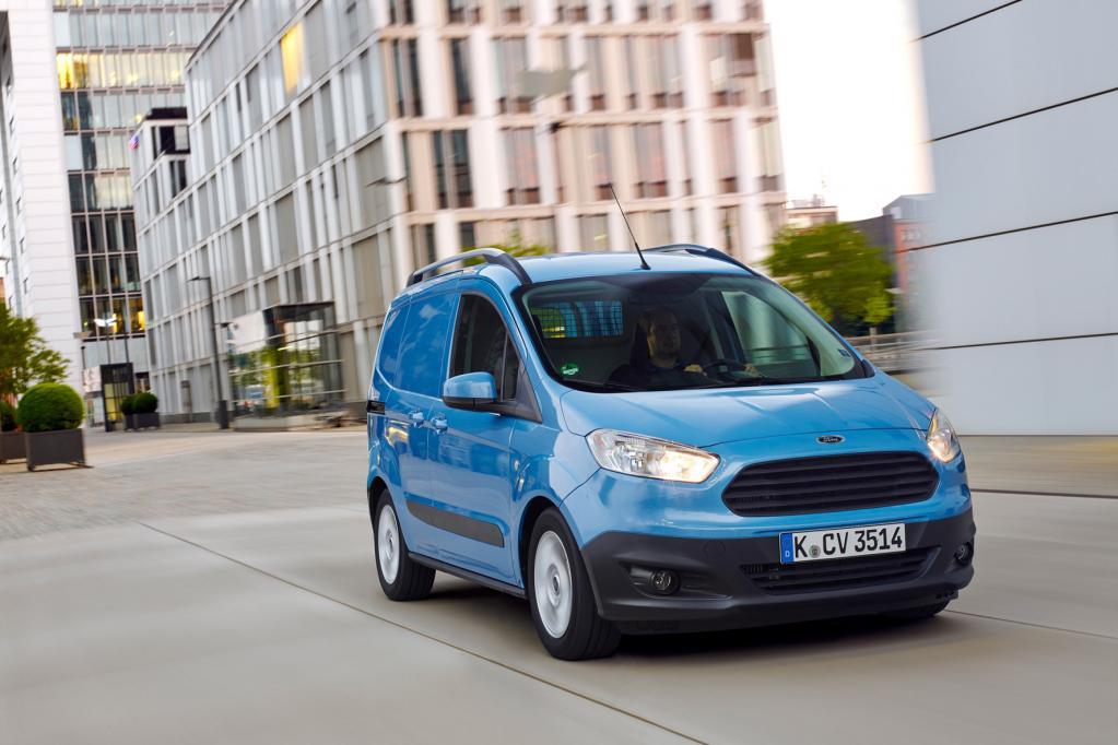 Ford Transit Courier: Klassenprimus