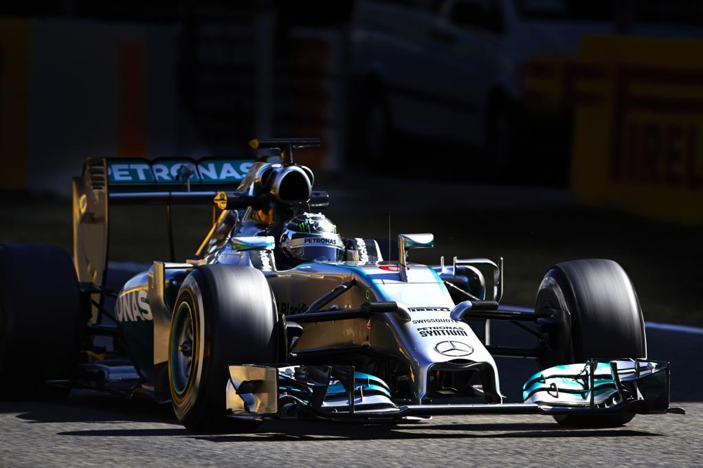 Formel 1: Mercedes testet