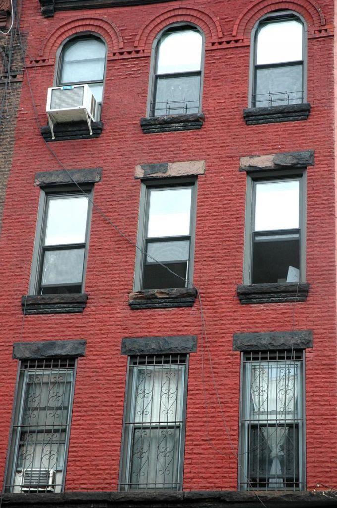 Gegenpol zur Hochhauswelt Manhattans: Backsteinbau in Brooklyn.