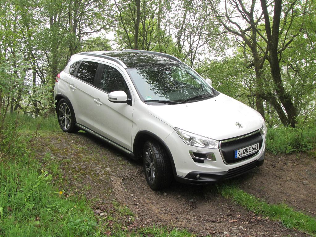 Geländetauglich: Peugeot 4008.