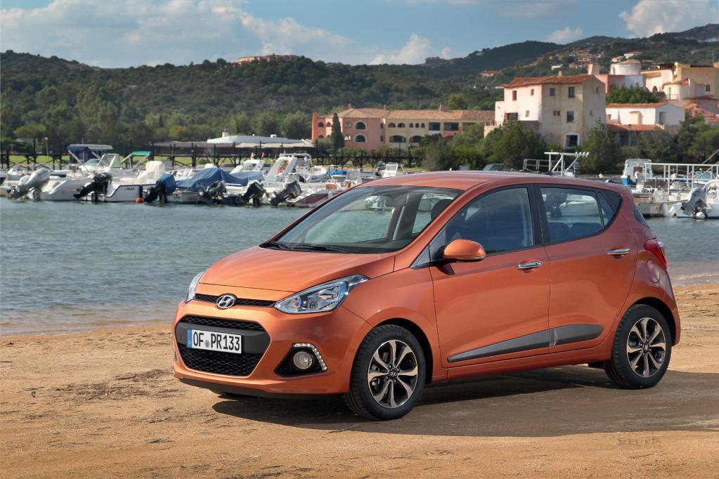 Hyundai i10 - neues Gesicht und viel Komfort