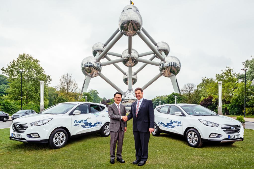 Hyundai ix35 als alltagstaugliches Wasserstoff-Mobil