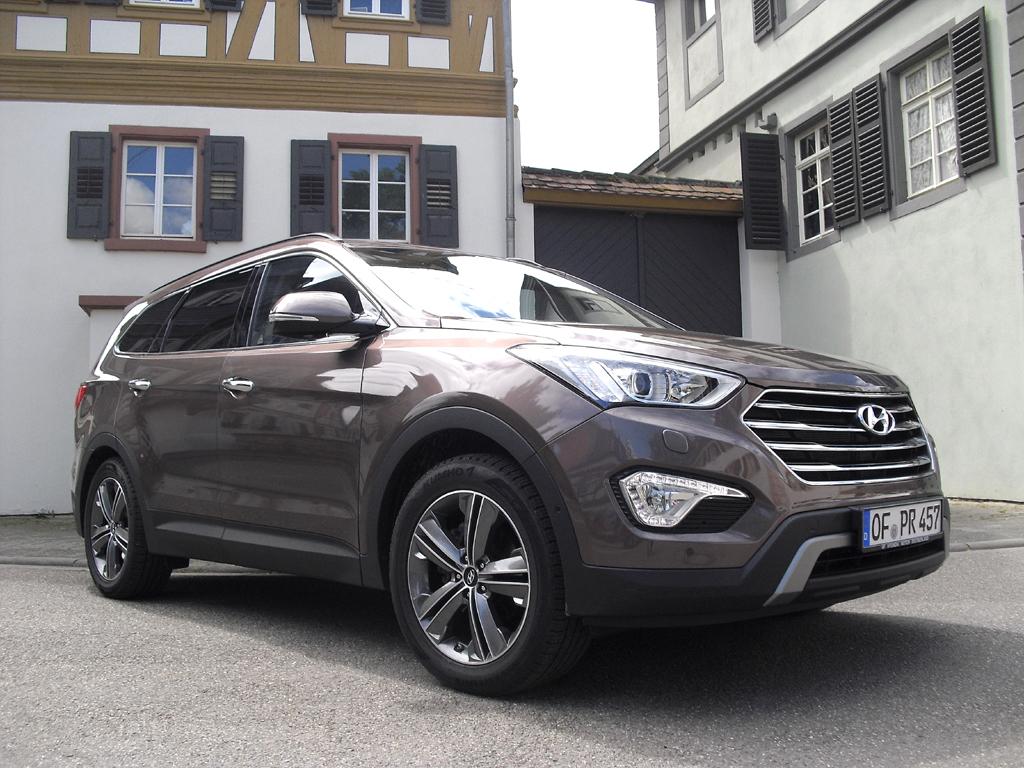 Hyundais Grand Santa Fe ist aktuell bei uns das Flaggschiff der Marke.