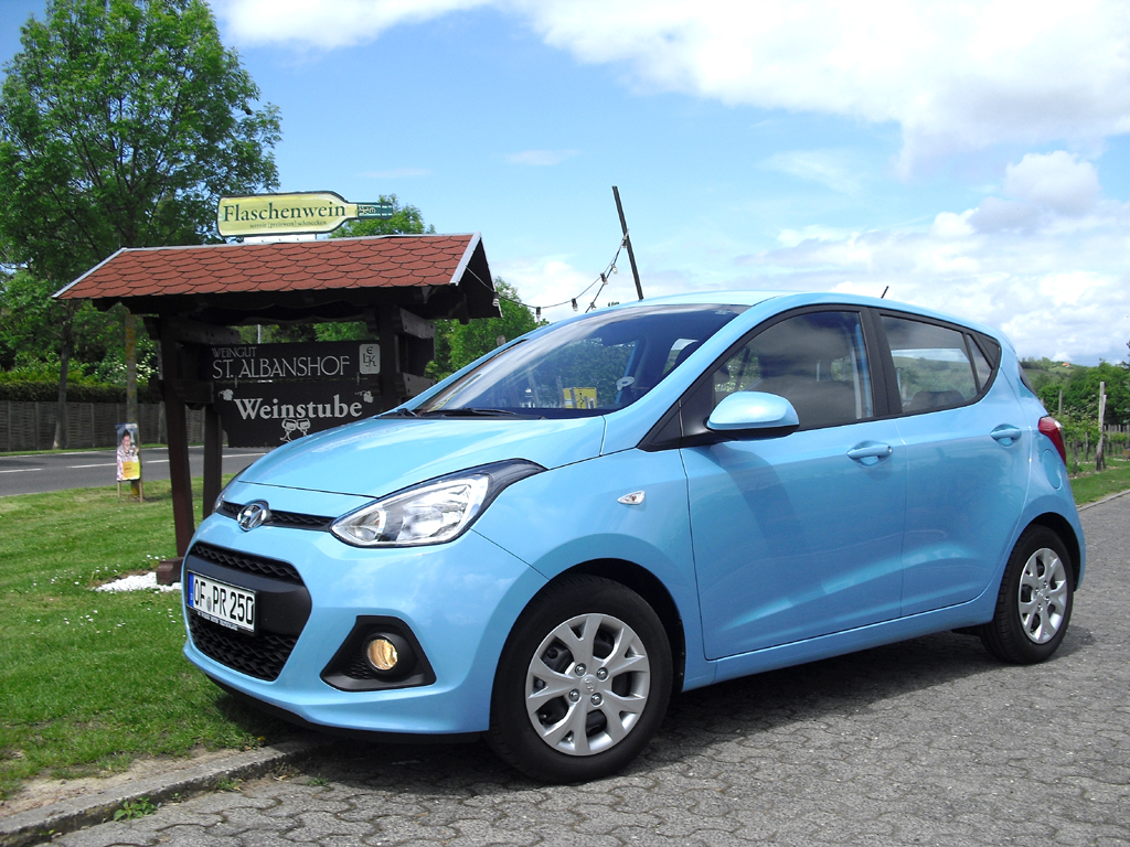 Hyundais i10 gibt's seit April ebenfalls mit Autogasantrieb.