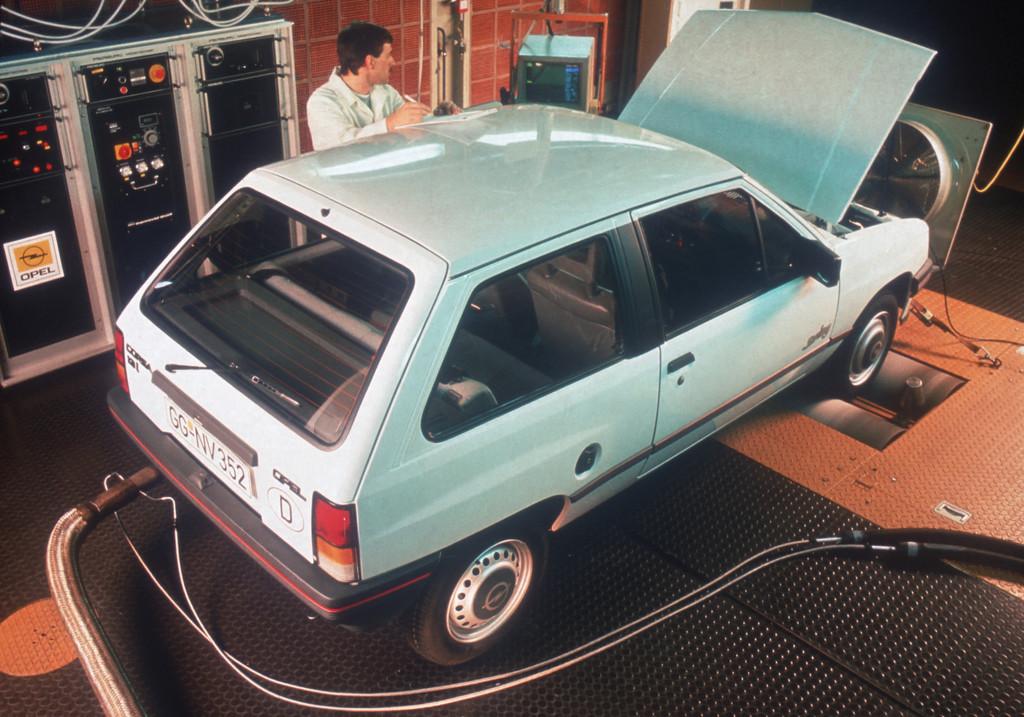 Im Rückspiegel: Opel fuhr mit dem Katalysator voran