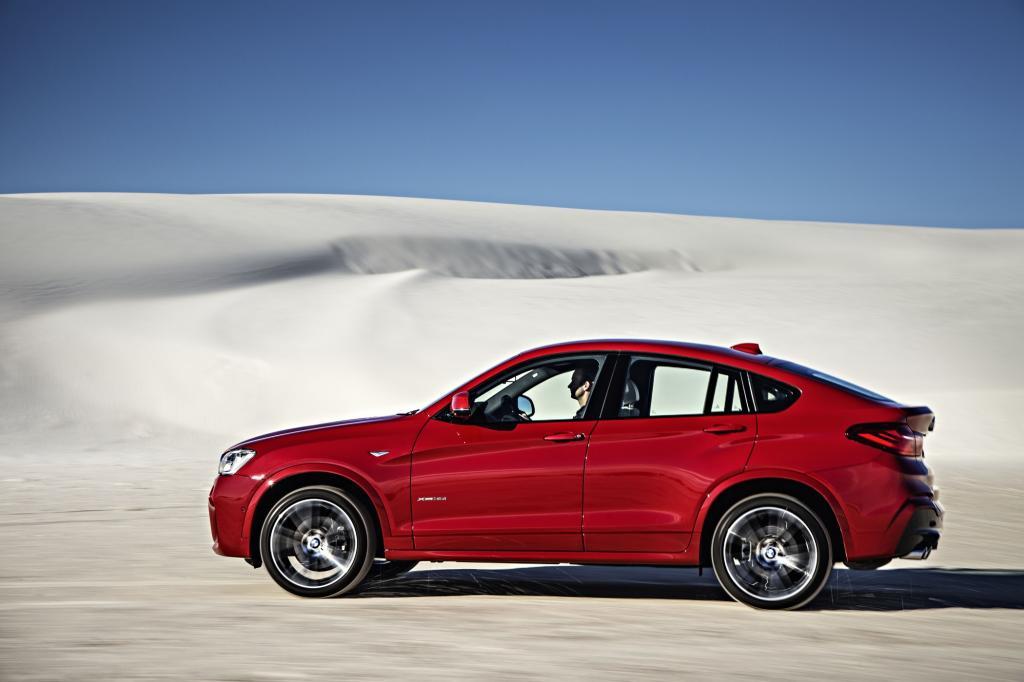 Im von uns gefahrenen X4 wartete der bekannte Sechszylinder-Benziner und dessen 225 kW/306 PS auf seinen Einsatz.