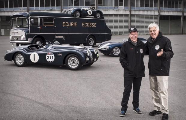 Jaguar Stars auf legendären Rennwagen in die Mille Miglia gestartet