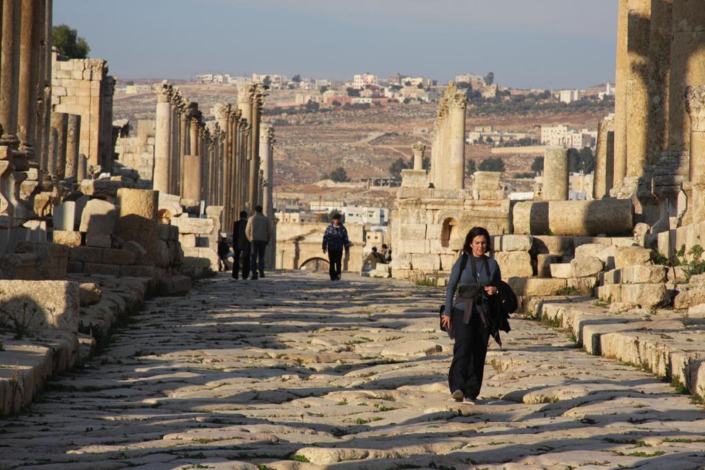 Jerash ist schon seit mehr als 6500 Jahren durchgehend bewohnt.