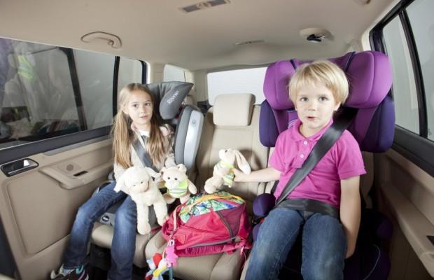 Kindersitztest - Viele gute Modelle für jedes Alter