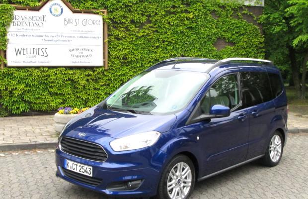 Kleiner Großraumwagen: Ford kündigt neue Courier-Baureihe noch für Juni an
