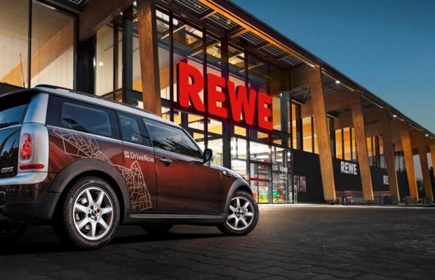 Kooperation von BMW und REWE - Supermarkt-Rabatt für Carsharer