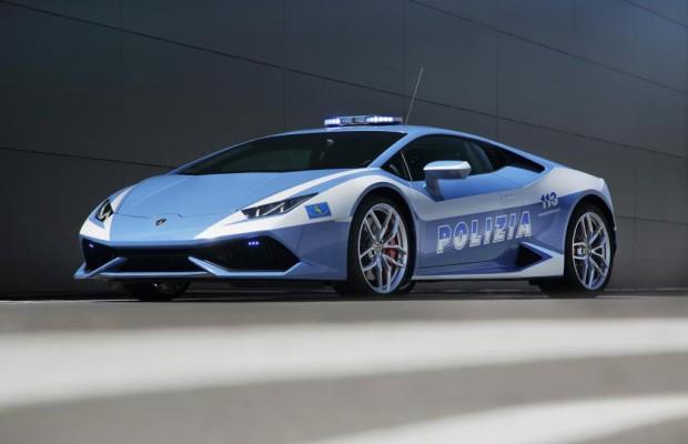 Lamborghini Huracán für italienische Polizei - Bella Figura mit neuem Peterwagen