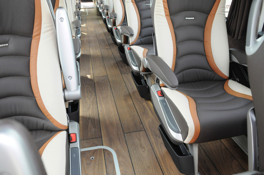 Luxus und Komfort sind stets mit an Bord