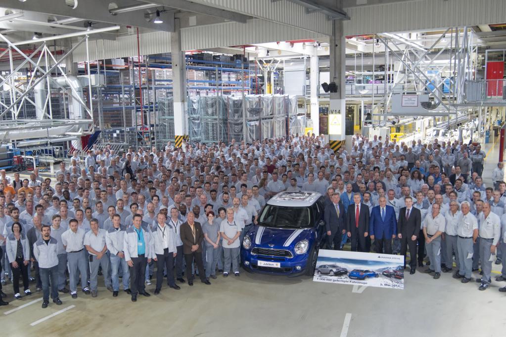Magna: Die Macher des Mini produzieren millionstes Auto