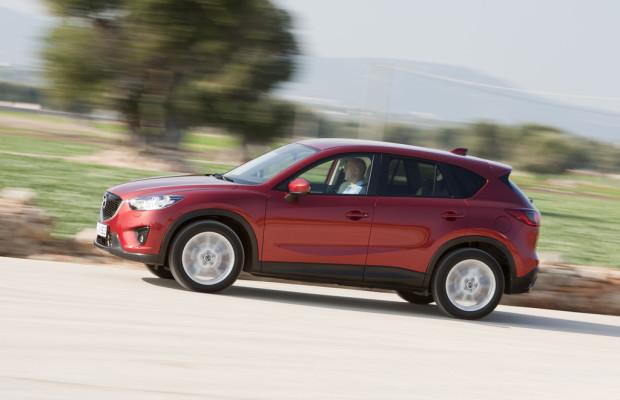 Mazda legt um 35 Prozent zu
