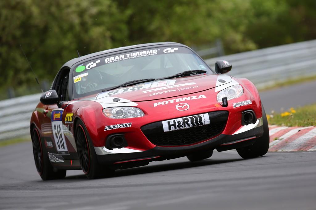 Mazda schickt einen MX-5 in die Grüne Hölle