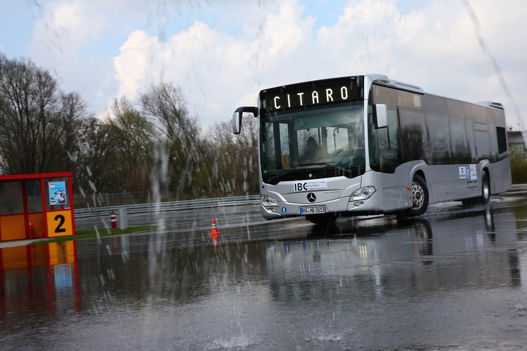 Mercedes-Benz Citaro gewinnt Bus-Vergleichstest