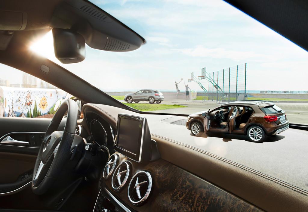 Mercedes-Benz GLA rollt in die Vitrinen