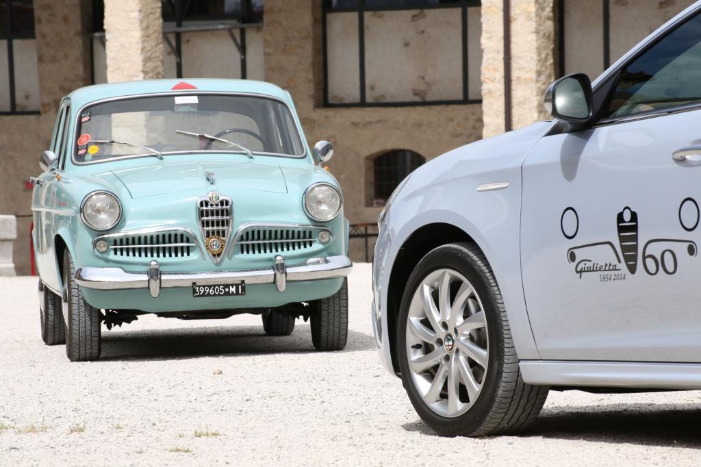 Mille Miglia 2014 & 60 Jahre Alfa Romeo Giulietta - Auf die Nächsten Sechzig
