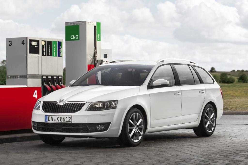 Nach dem Kleinstwagen Citigo schickt Skoda jetzt auch den kompakten Octavia mit Erdgasantrieb zu den Händlern.