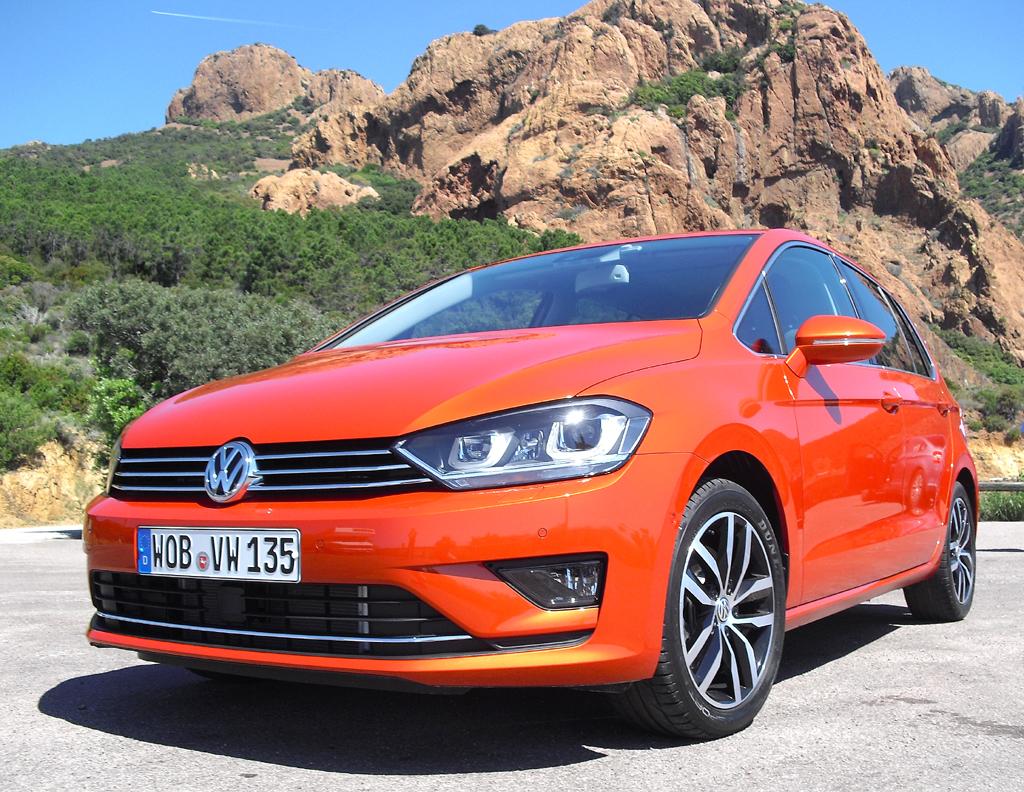 Neuer Name: Statt VW Golf Plus jetzt Golf Sportsvan.