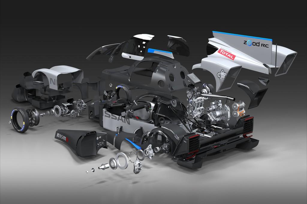 Nissan gewährt Blick unter die Haut des Zeod RC