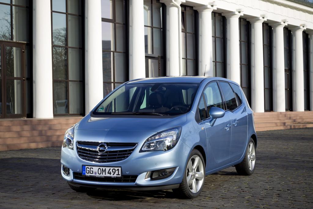 Opel Meriva ist Segmentführer für