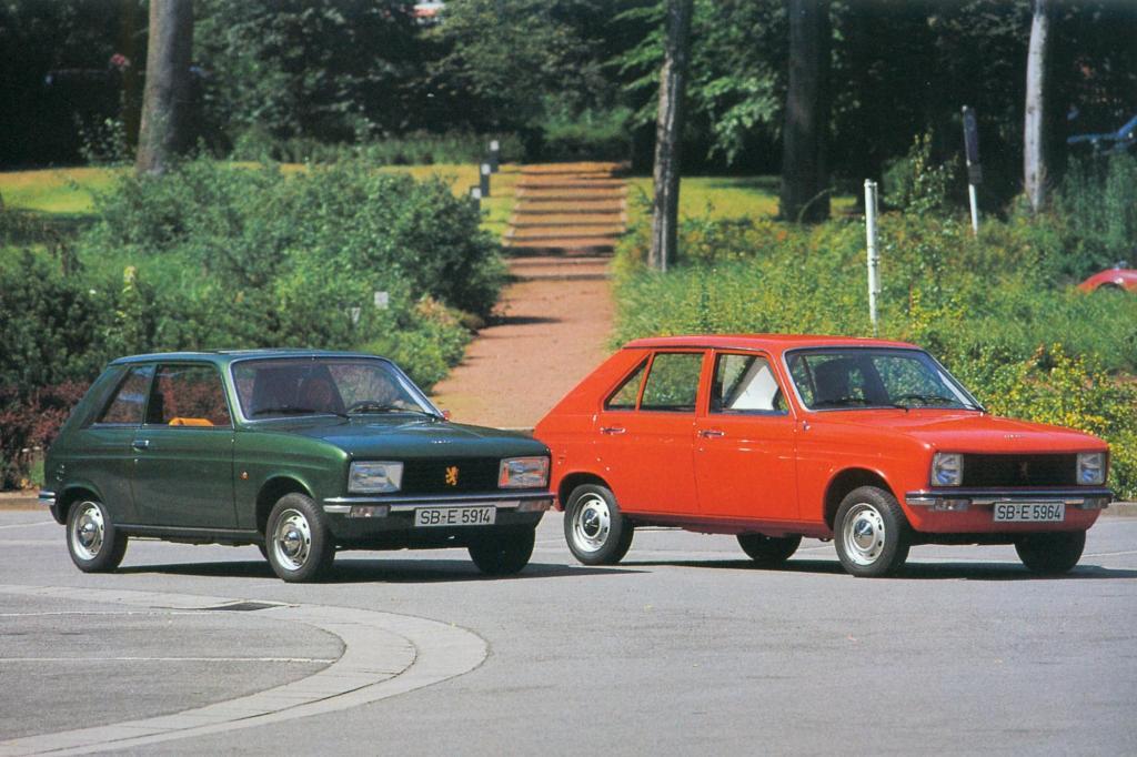 Peugeot 104 und Peugeot 104C 1974