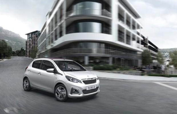 Peugeot 108 ab sofort bestellbar